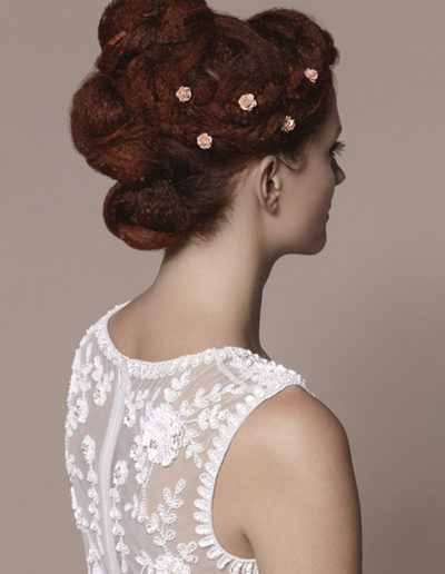 coiffure chignon Coachella Laurent Voisinet