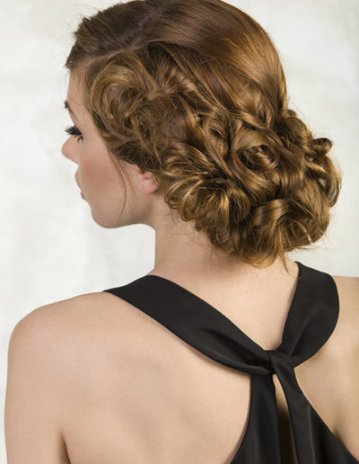 coiffure chignon Arabesques Laurent Voisinet