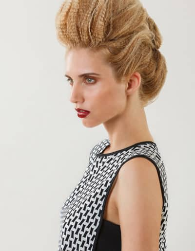 chignon Bombe chic Laurent Voisinet
