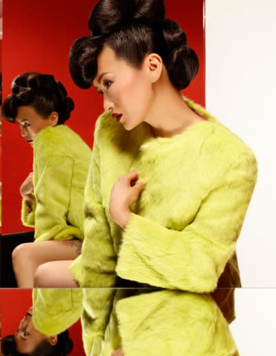 Collection chignon Illusion 1 Laurent Voisinet